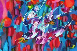 Diving Bird, 2013 by Jane Tattersfield