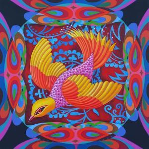 Firey-Tailed Flier, 2012 by Jane Tattersfield