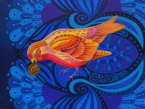 Redpoll, 2012 by Jane Tattersfield
