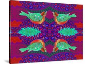 Tree Sparrow Pattern by Jane Tattersfield