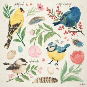 Bird Study II by Janelle Penner
