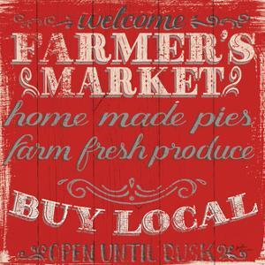 Farmers Market X by Janelle Penner