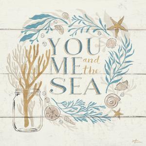 Golden Sea III by Janelle Penner