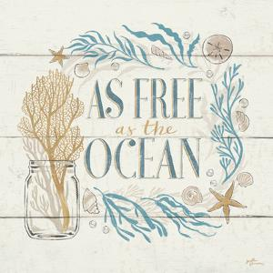 Golden Sea IV by Janelle Penner