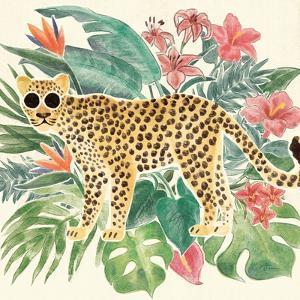 Jungle Vibes Jaguar by Janelle Penner
