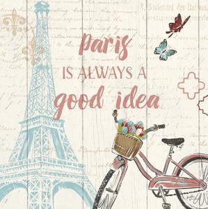 Paris Tour IV by Janelle Penner