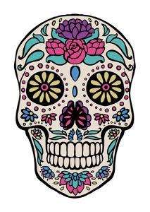 Sugar Skull III by Janelle Penner