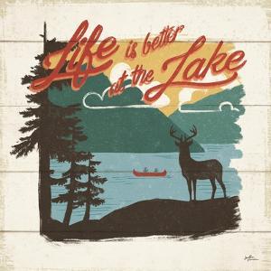 Vintage Lake IV by Janelle Penner