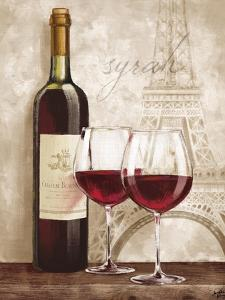 Wine in Paris IV by Janelle Penner