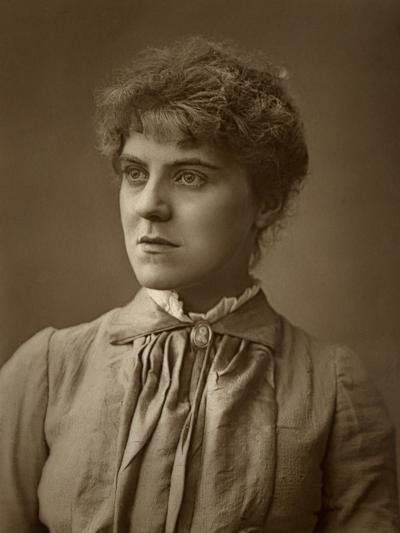 Janet Achurch, British Actress and Actor-Manager, 1887-Ernest Barraud-Photographic Print