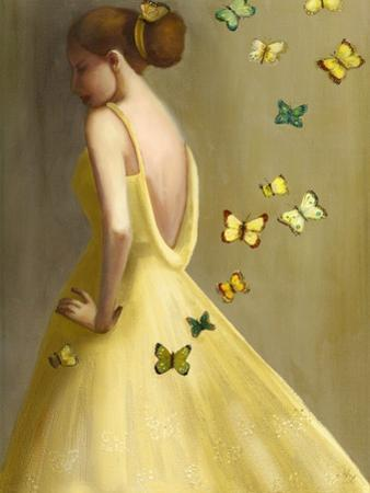 Little Wings Yellow by Janet Hill