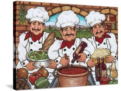 3 Happy Chefs by Janet Kruskamp