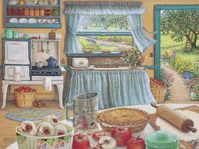Apple Pie Harvest by Janet Kruskamp
