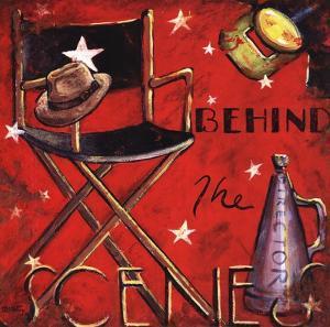 Behind the Scene by Janet Kruskamp