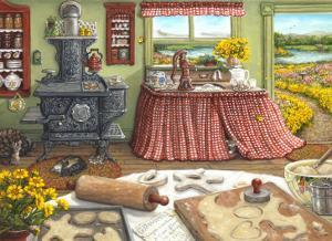 Cookie Baking Day by Janet Kruskamp