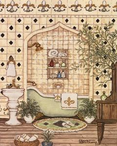 Elegant Bath III by Janet Kruskamp
