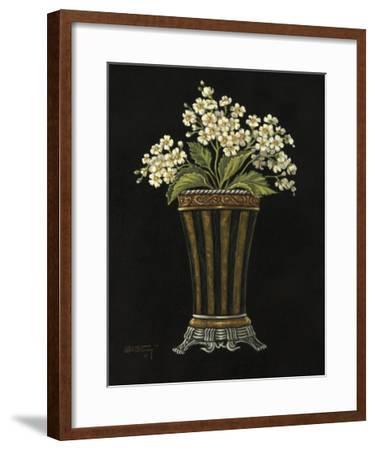 Floral Noir Paper Cloche