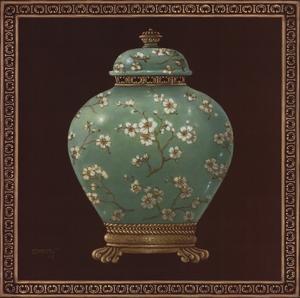 Jade Ginger Jar by Janet Kruskamp