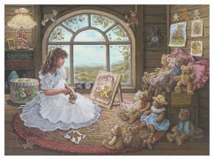 Jenny Paints Her Bears by Janet Kruskamp