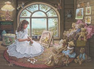 Jenny Paints Her Bears by Janet Kruskamp