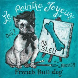 Le Peintre Joyeux by Janet Kruskamp