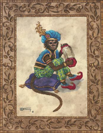 Monkey with Concertina by Janet Kruskamp