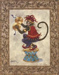 Monkey with Cymbals by Janet Kruskamp
