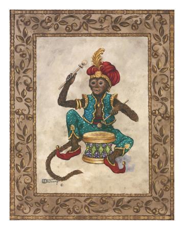 Monkey with Drum