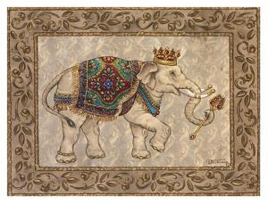 Royal Elephant I by Janet Kruskamp