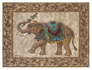 Royal Elephant II by Janet Kruskamp