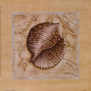 Sea Treasures I by Janet Kruskamp