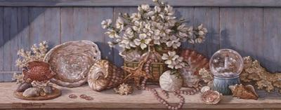 Seashell Collection I by Janet Kruskamp