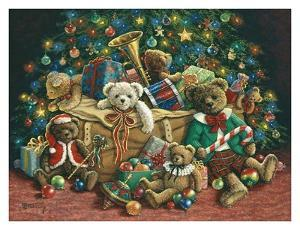 Teddy Bear Christmas by Janet Kruskamp