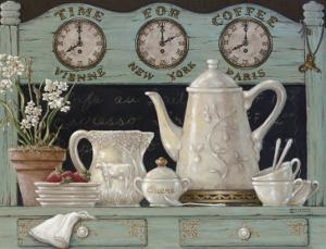Time For Coffee by Janet Kruskamp