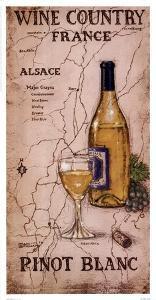Wine Country III by Janet Kruskamp