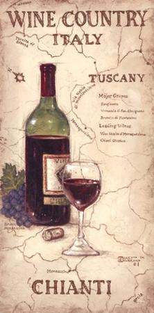Wine Country IV by Janet Kruskamp
