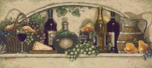 Wine, Fruite 'n Cheese by Janet Kruskamp