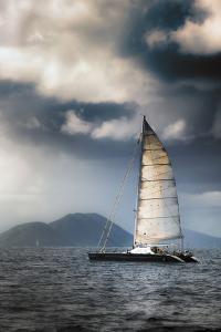 British Virgin Islands. Sailing by Janet Muir