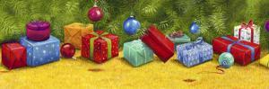 Christmas Border 2 by Janet Pidoux