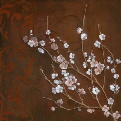 Cherry Blossoms on Cinnabar I