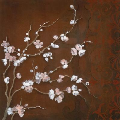 Cherry Blossoms on Cinnabar II