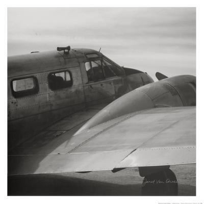 Vintage Flight II by Janet Van Arsdale