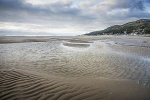 Barmouth Beach, Barmouth, Gwynedd, North Wales, Wales, United Kingdom, Europe by Janette Hill