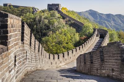 Great Wall of China, UNESCO World Heritage Site, Mutianyu, China, Asia