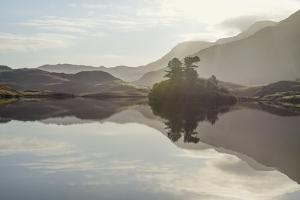 Reflections, Cregannen Lake, Dolgellau, Gwynedd, North Wales, United Kingdom, Europe by Janette Hill