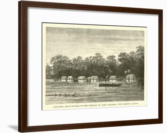 Jangadas--Framed Giclee Print