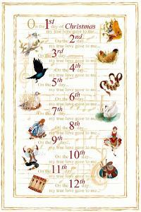 12 Days of Christmas (vertical) by Janice Gaynor