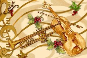 Christmas Music I by Janice Gaynor