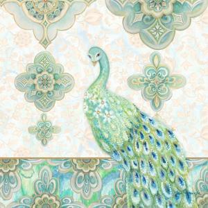 Emerald Peacock II by Janice Gaynor
