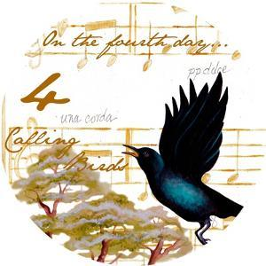 Four Calling Birds by Janice Gaynor